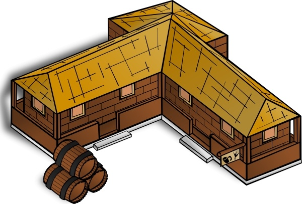 Tavern clip art Free vector in Open office drawing svg ( .svg.