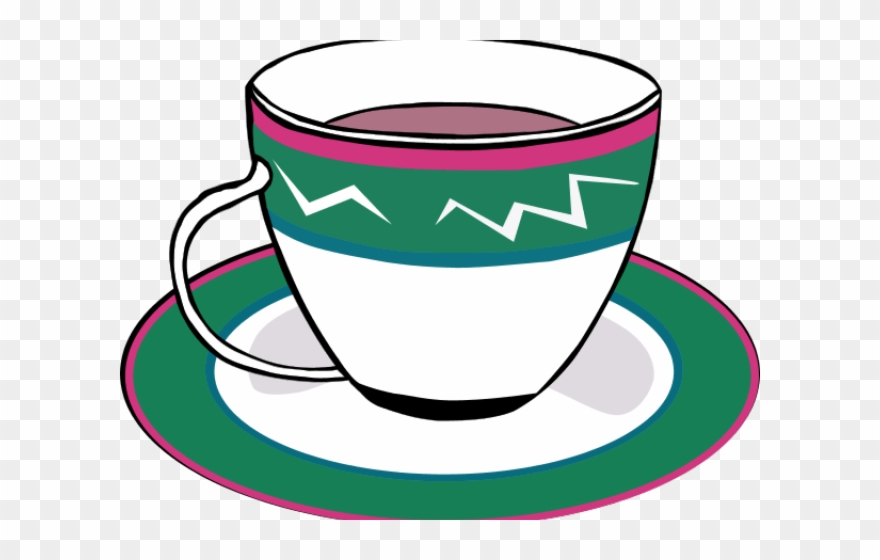 Tea Cup Clipart Empty.