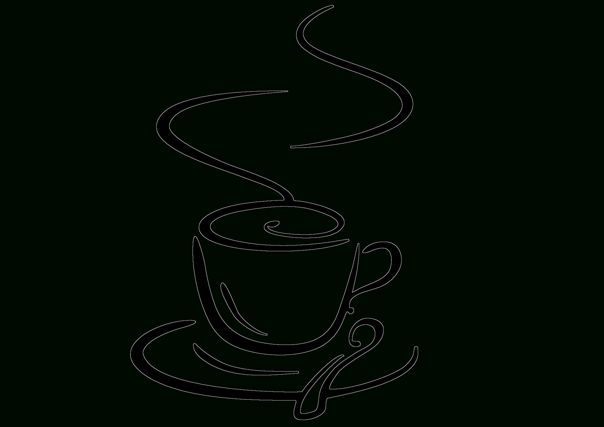 Vintage Tea Cup Drawing.