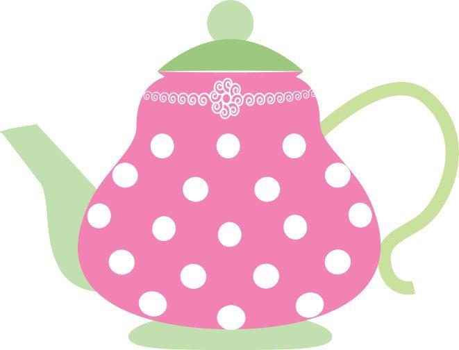 pink teapot clip art.