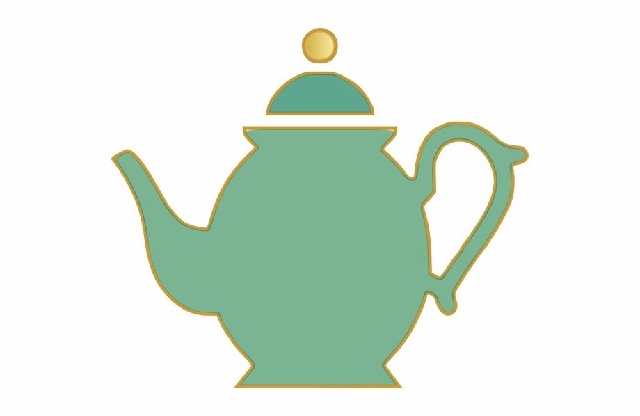 Tea Set Clipart Poured.