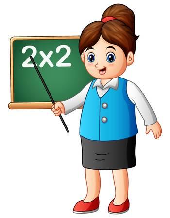 14,605 Female Teacher Stock Vector Illustration And Royalty Free.