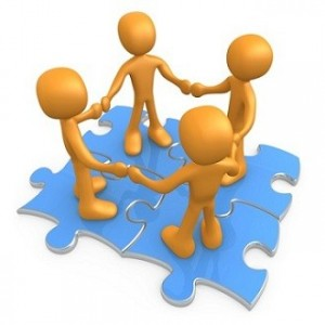 Teamwork puzzle clipart free images.