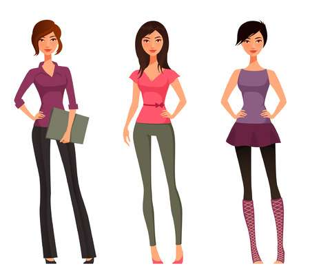 39,297 Teenage Girl Stock Vector Illustration And Royalty Free.