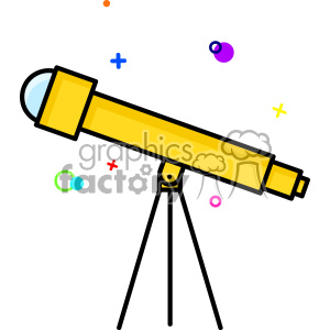Telescope vector clip art images clipart. Royalty.