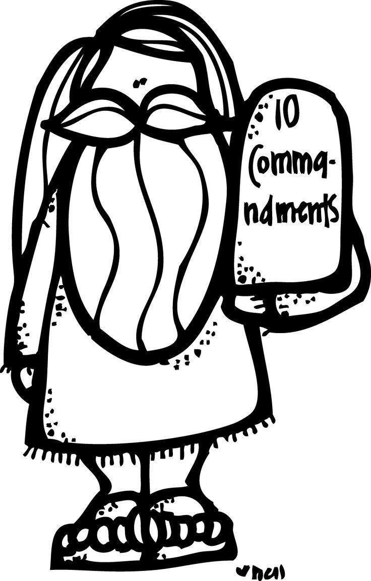 Ten commandments clipart black and white 1 » Clipart Portal.