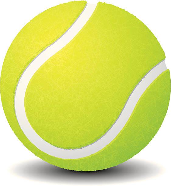 Best Tennis Ball Illustrations, Royalty.