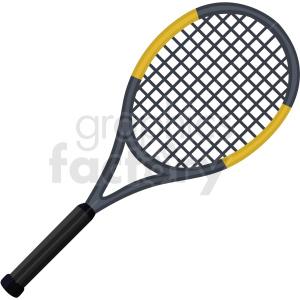 tennis racket vector clipart . Royalty.
