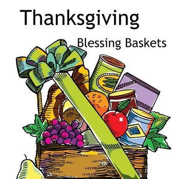 Thanksgiving Baskets.