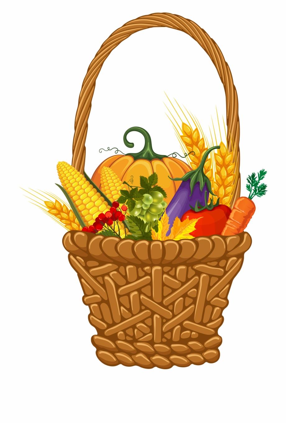 Thanksgiving Basket Png.