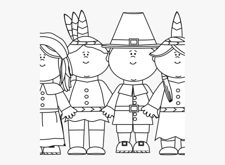 Thanksgiving Thanksgiving Clipart Black And White Picture.