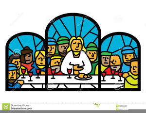 Free Last Supper Clipart.