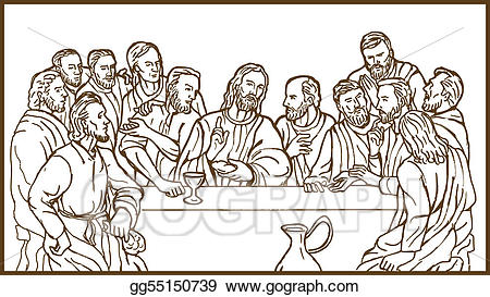The last supper clipart 2 » Clipart Station.