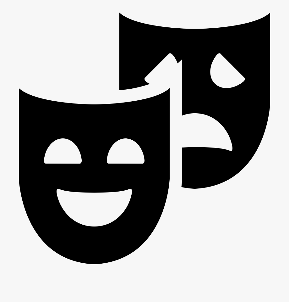 Theater Masks Clipart Free Download Clip Art.