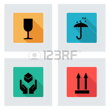 592 This Side Up Stock Vector Illustration And Royalty Free This.