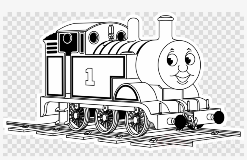 Download Thomas The Tank Engine Coloring Clipart Thomas.