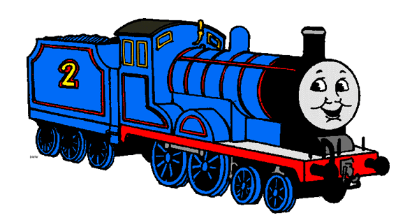 Thomas the Tank Engine and Friends Clip Art.