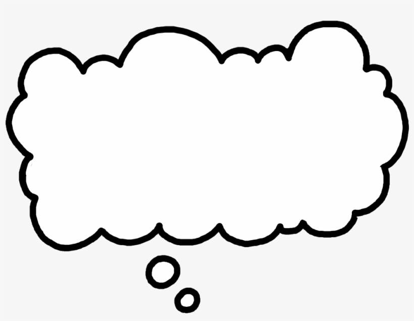 Clouds Clipart Thought Bubble.