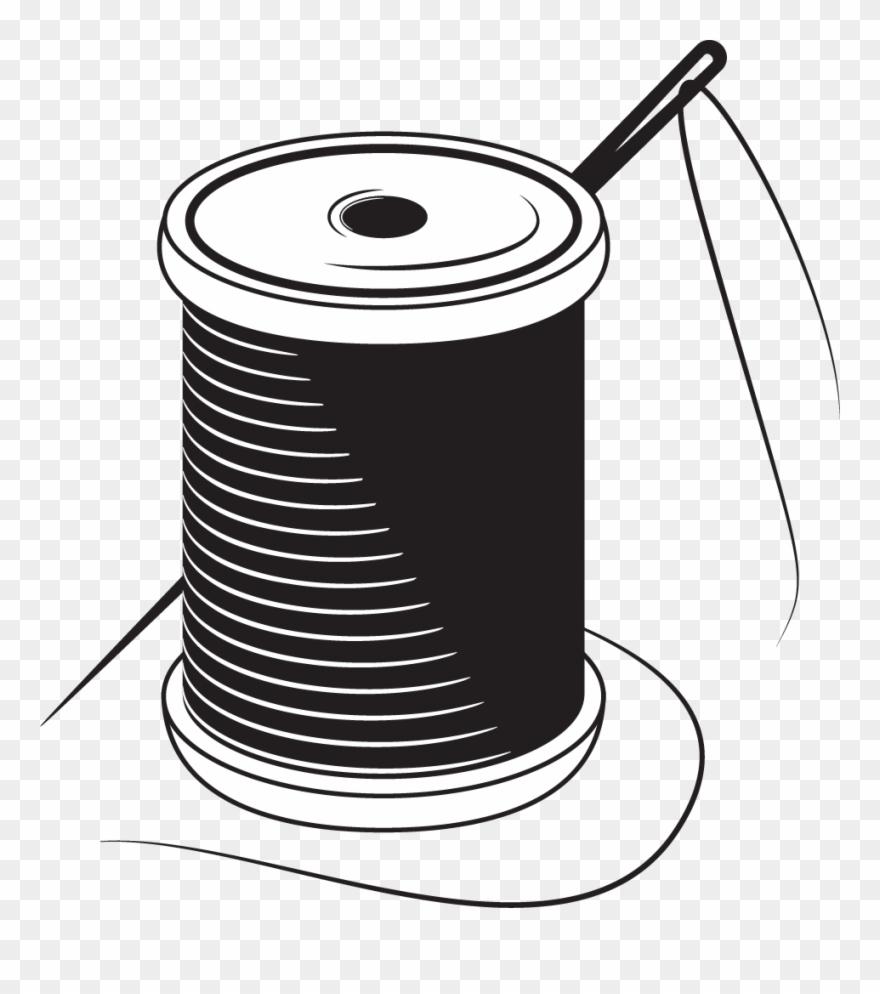 Sewing Needle Yarn Stitch.