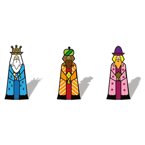 Three Kings clipart, cliparts of Three Kings free download (wmf, eps.