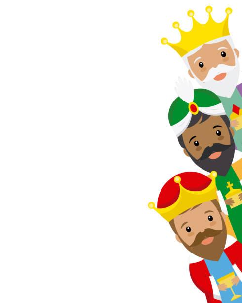 Best Three Kings Illustrations, Royalty.