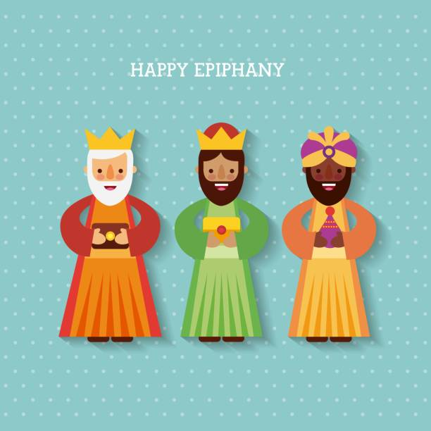 Best Three Kings Day Illustrations, Royalty.