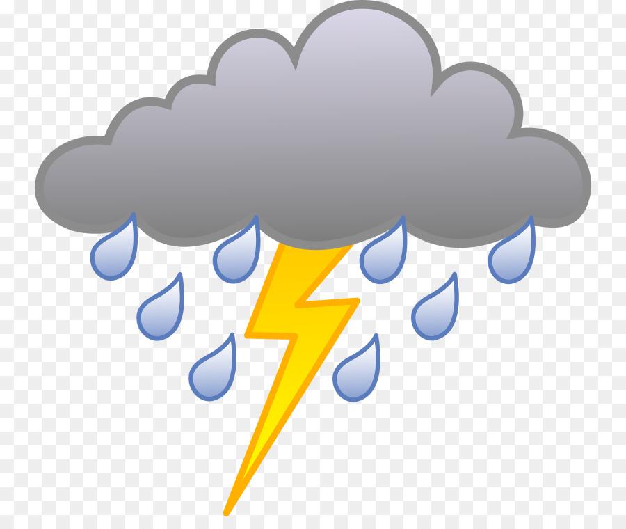 Thunderstorm, Cloud, Rain, transparent png image & clipart free download.