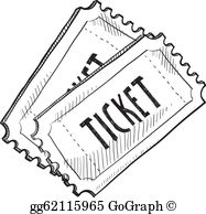Ticket Clip Art.