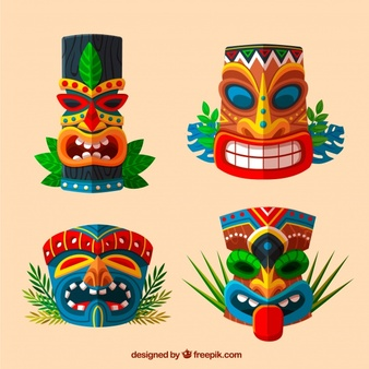 Tiki Vectors, Photos and PSD files.
