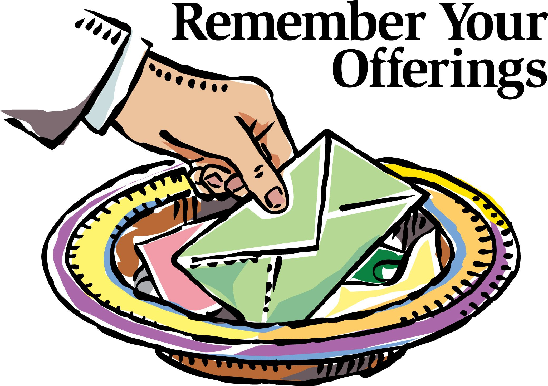 Tithing Clipart.