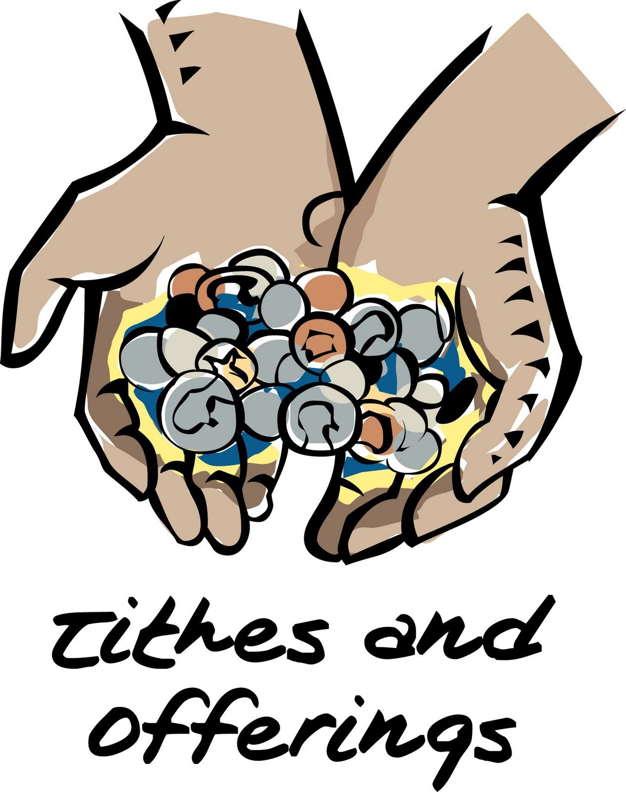 clip art tithing.