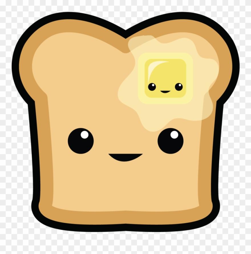 Toast Clipart Cute.
