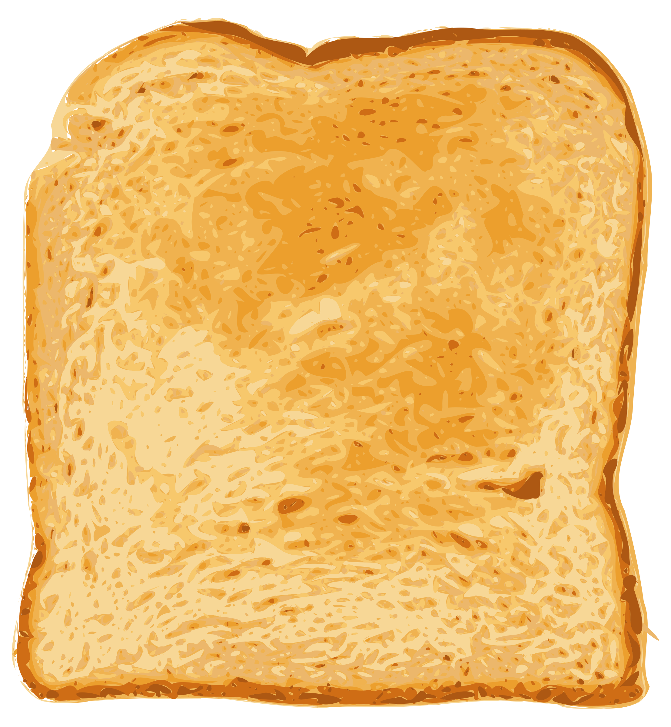 Toast Vector Clipart image.