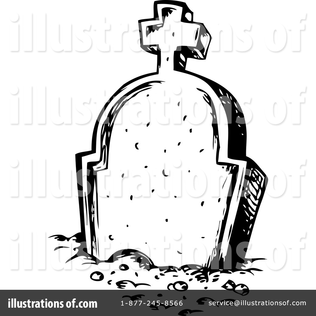 Tombstone Clipart #1124524.
