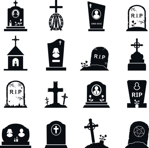 Best Tombstone Illustrations, Royalty.