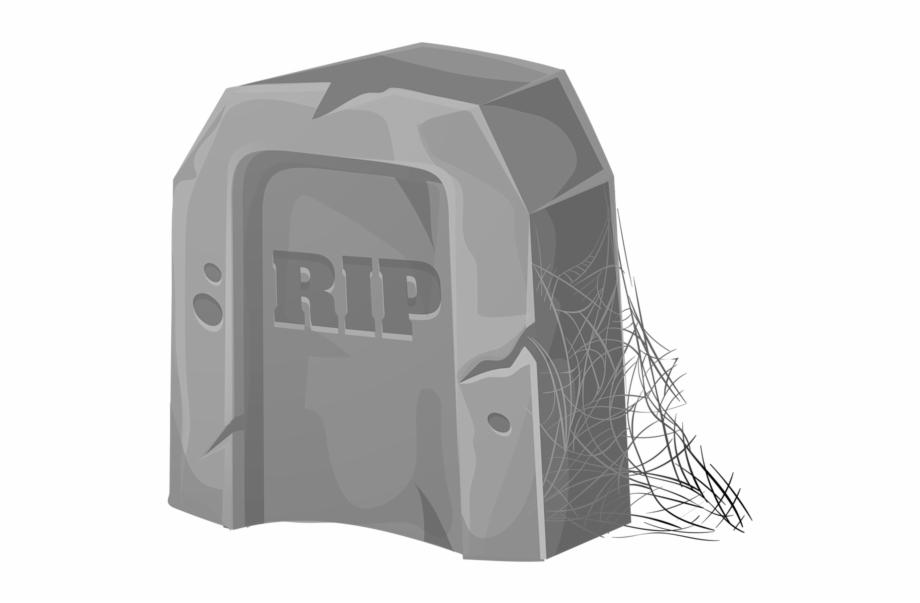 Free Halloween Tombstone Clipart.