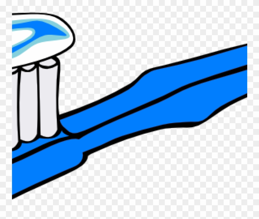 Tooth Brush Clipart Blue Toothbrush Clip Art At Clker.