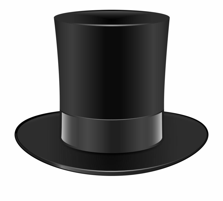 Black Top Hat Png Clip Art {#62722}.