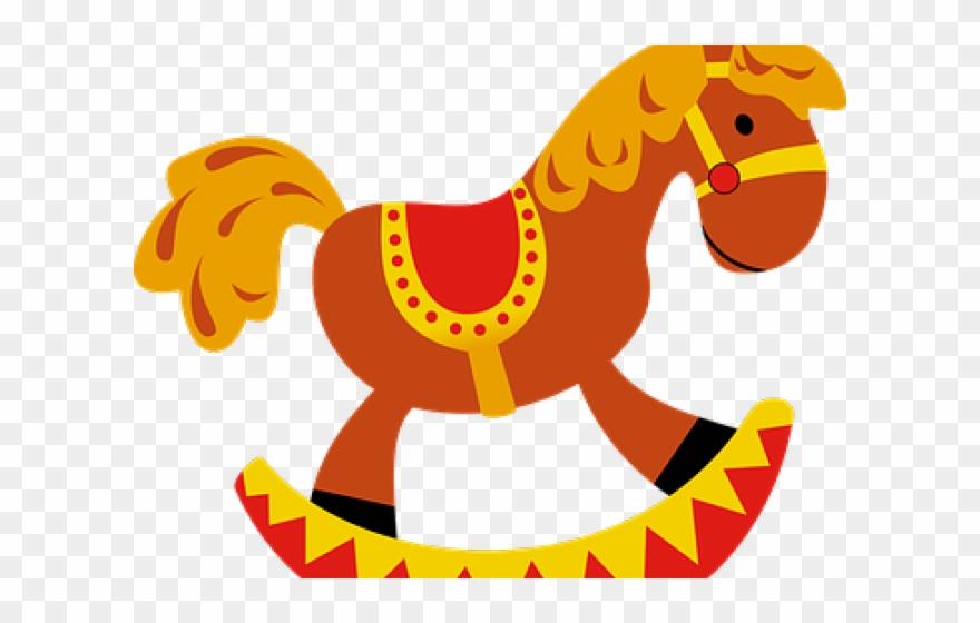 Drawn Toy Horse Clip Art.