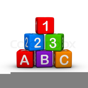 Toy Blocks Clipart.