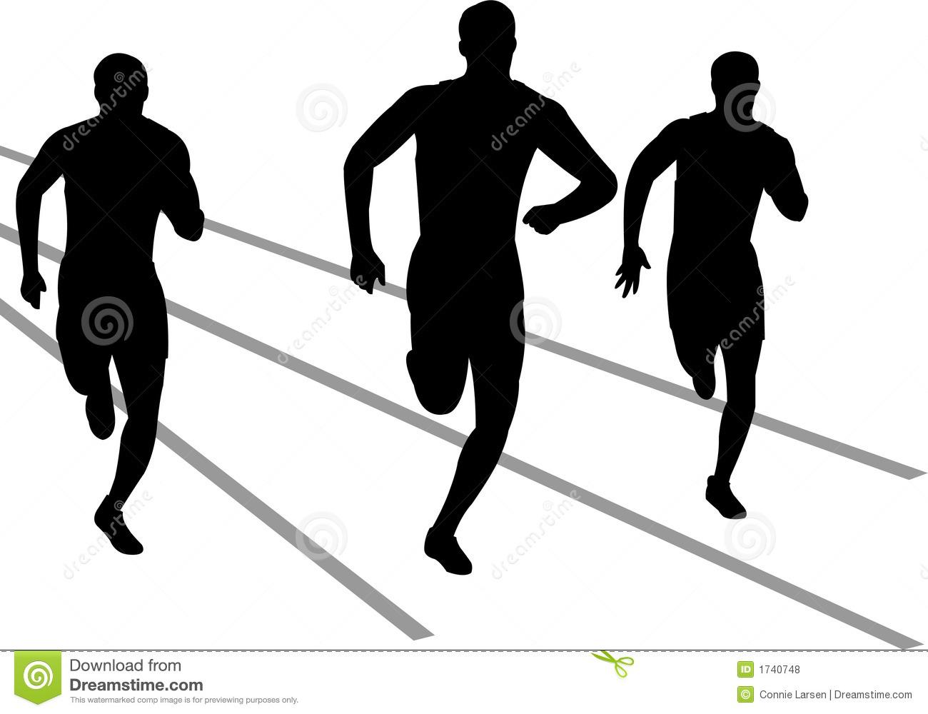 Track runner clipart 2 » Clipart Station.