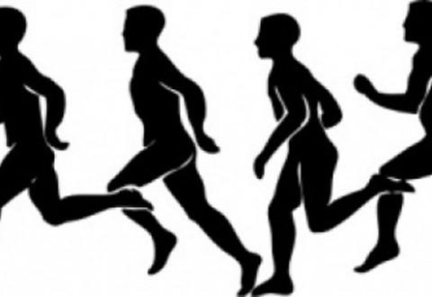 Clipart track runner.
