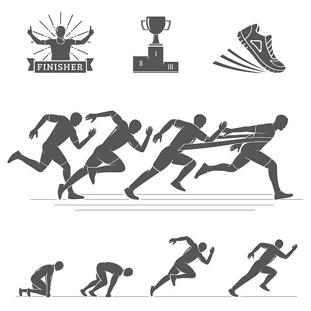 Best Track And Field Illustrations, Royalty.