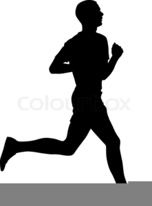 Track Runner Clipart.