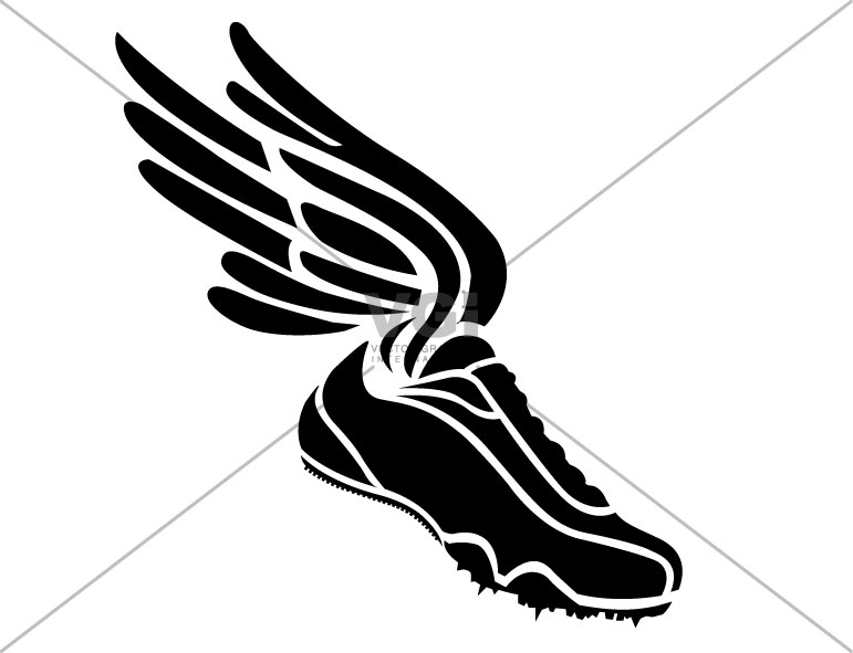 Wings clipart running shoe for free download and use images in.