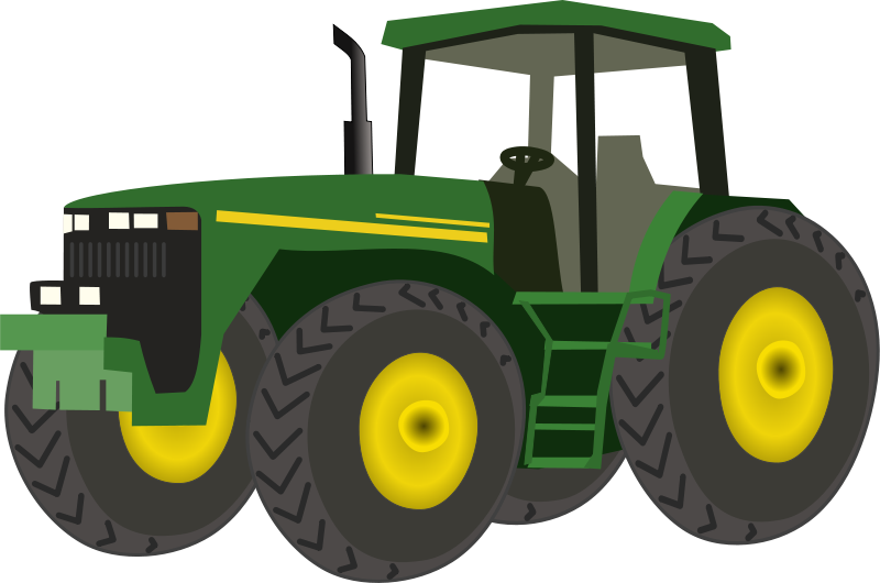 Free Clipart: Tractor.