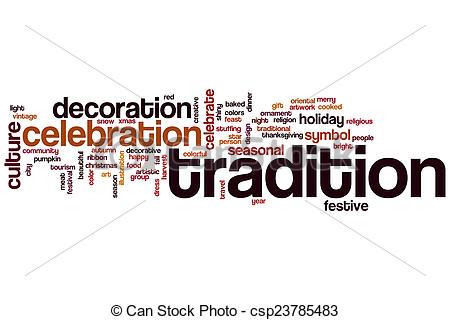 Traditions Clip Art.