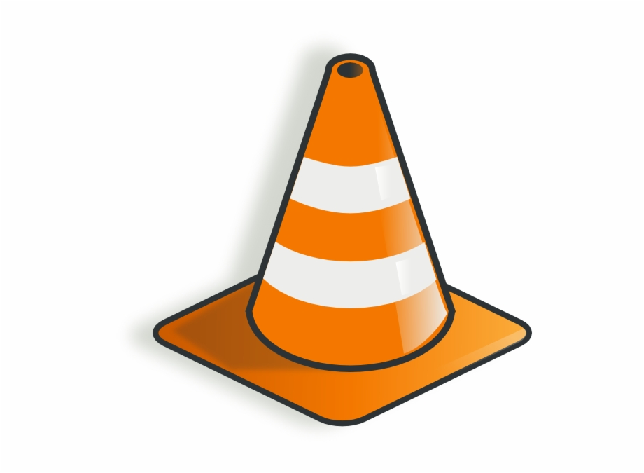 Traffic Cone 2 Clip Art.