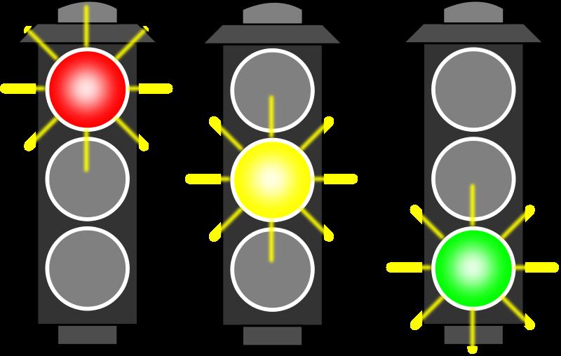 Free Clipart: Traffic Light (RYG).