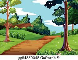 Hiking Trail Clip Art.